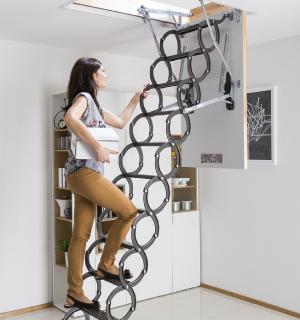 Модели металлических лестниц FAKRO