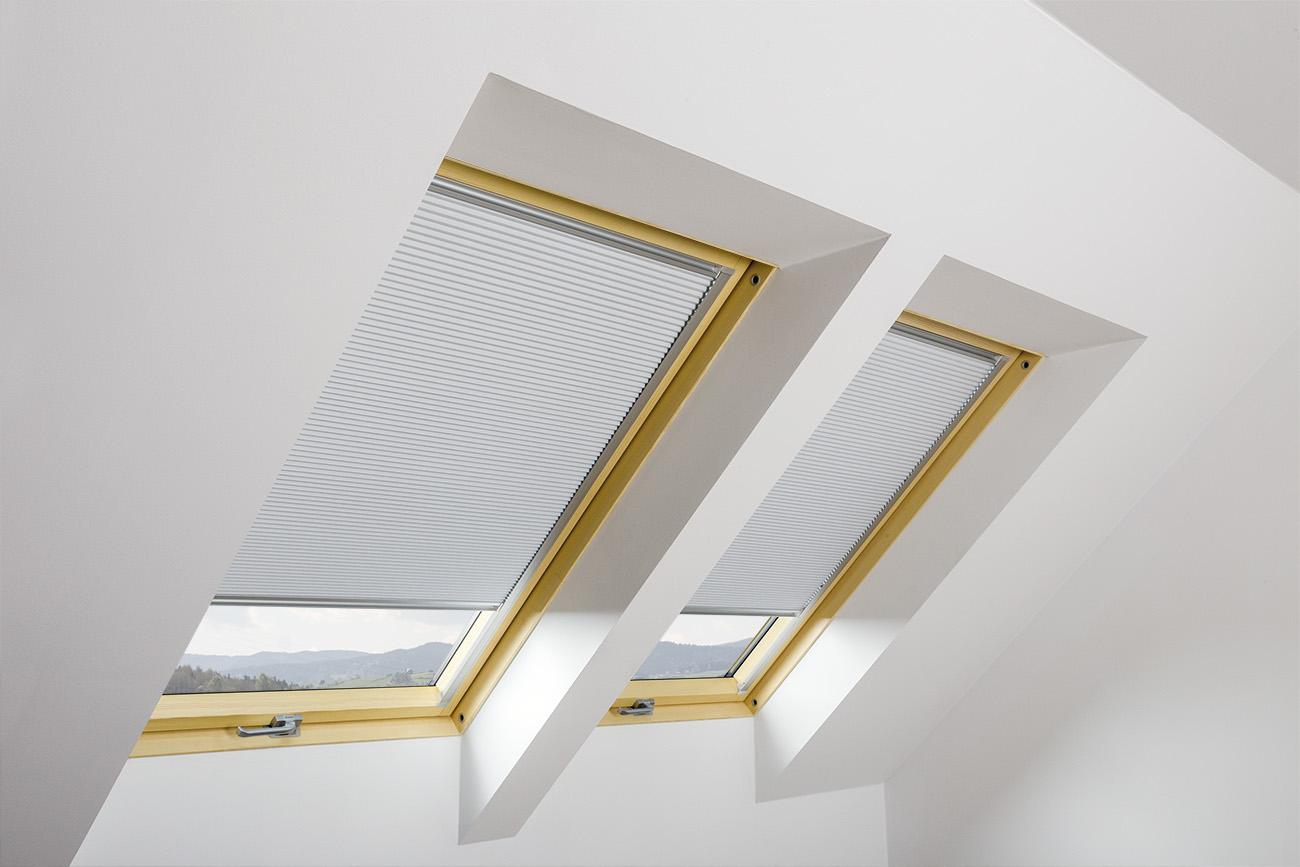 Плиссированная штора APF