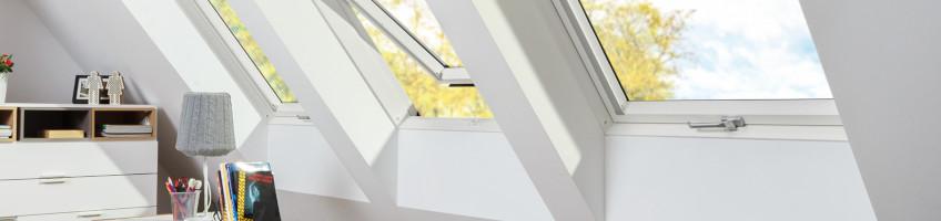 Okna dachowe obrotowe o podwyższonej odporności na wilgoć