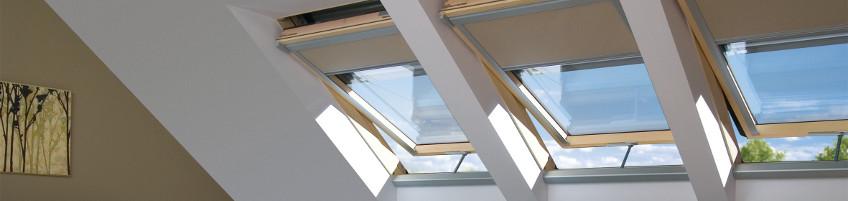 Okna dachowe sterowane elektrycznie Z-Wave