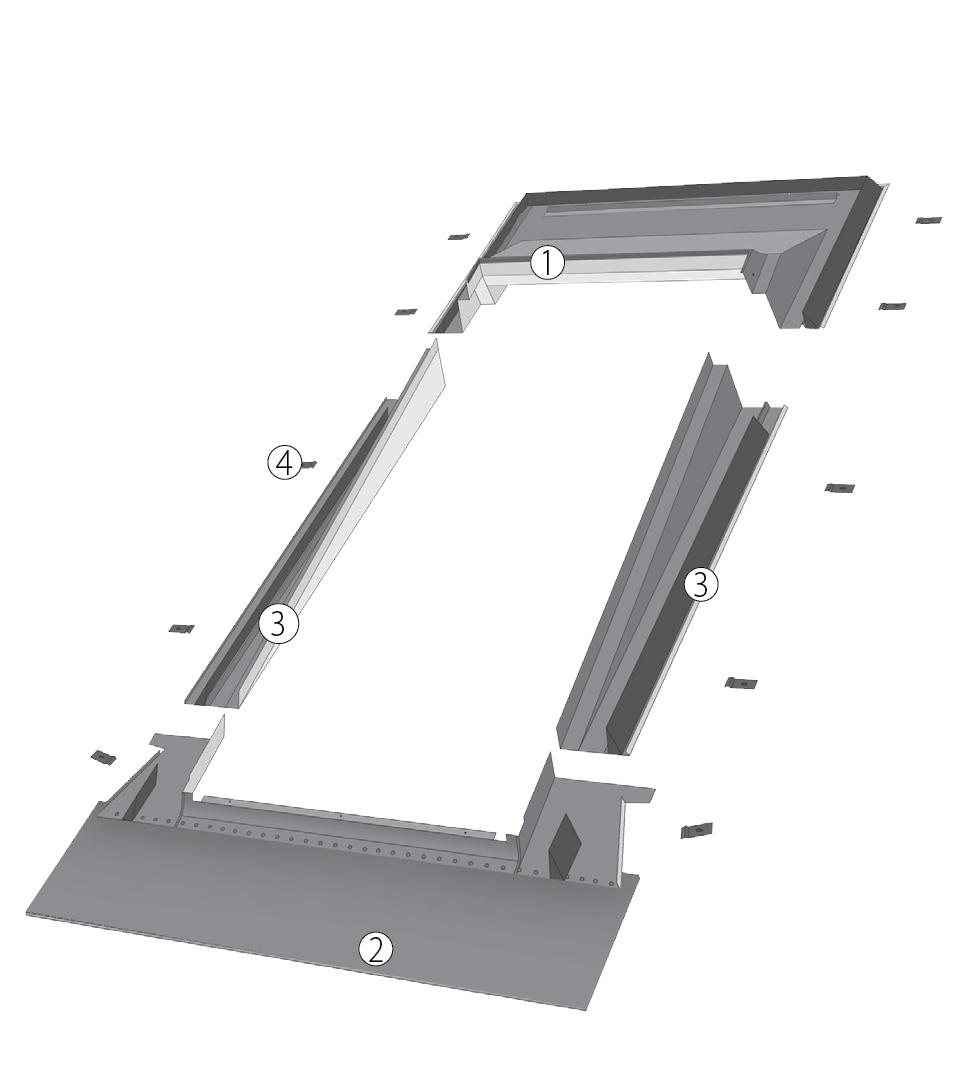 Оклад ESA, EZA-P, EHA-P для изменения угла монтажа окна